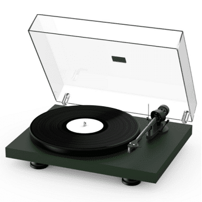 Pro-ject Debut Carbon Evo Verde Opaco (2)