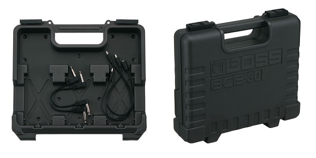Come assemblare una pedalboard per chitarra piccola: la borsa Boss BCB-30