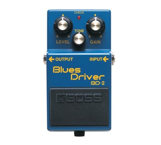 Primo pedale da inserire per assemblare la pedalboard piccola: Boss BD-2 Blues Driver