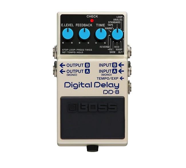 Secondo pedale da inserire per assemblare la pedalboard piccola: Boss DD-8 Digital Delay