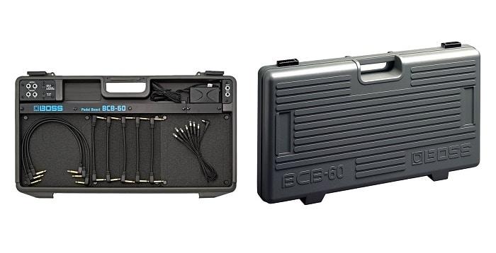 Come assemblare una pedalboard per chitarra completa: la valigietta Boss BCB-60.