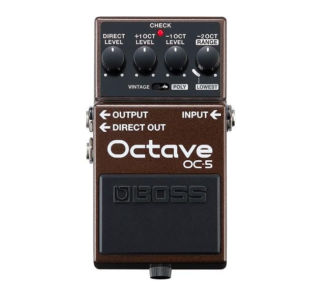 """Un effetto speciale da inserire nella pedalboard per chitarra """"Pro"""": Boss OC-5 Octave."""